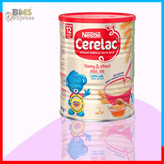 Nestle Cerelac Honey & Wheat With Milk  (400gm) Switzerland