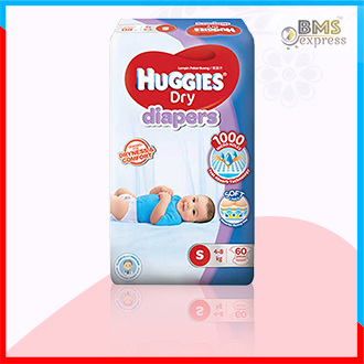 Huggies Dry Baby Diaper Belt S 4-8 kg