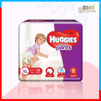 Huggies Baby Diaper Wonder Pants   XL 12-17 kg (38pcs)