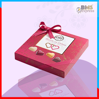 Elit Praline Hearts Chocolate (160gm) Turkey