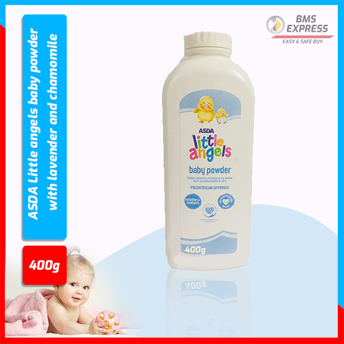 ASDA Little angels baby powder with lavender and chamomile 400gm