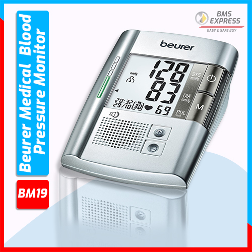 Beurer Medical BM19 Upper Arm  Blood Pressure Monitor