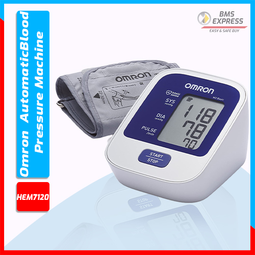 Omron HEM 7120 Upper Arm Automatic Blood Pressure Machine