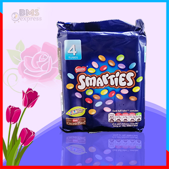 Nestle Smarties 4 Tube – 152g