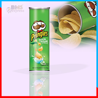 Chips_Pringles Sour Cream & Onion 158g
