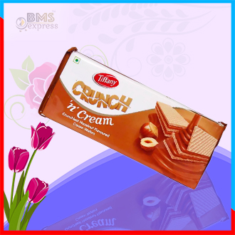 Crunch  Hazelnut Wafers - 76gm