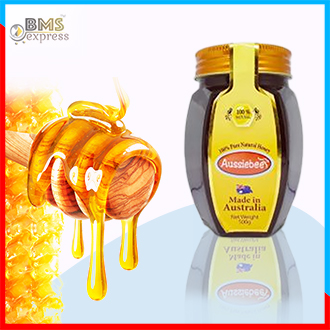 Aussiebee Natural Honey -500gm