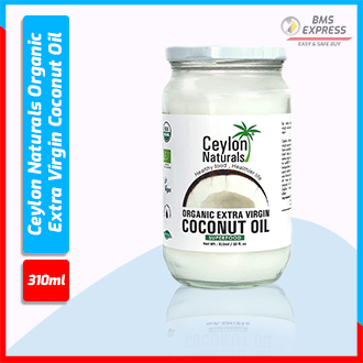 Ceylon Naturals Organic Extra Virgin Coconut Oil 310 ml (Sri Lanka)
