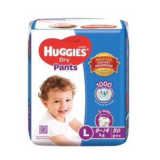 Huggies Dry Pants (9-14 kg)
